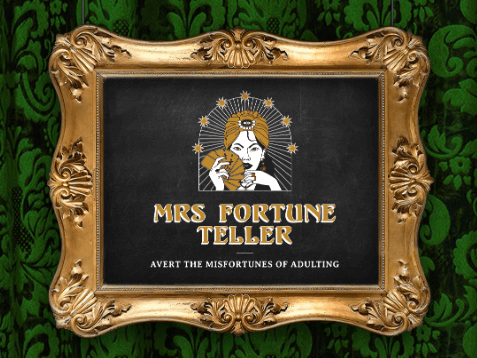 Manulife's Mrs Fortune Teller: averting the misfortunes of adulting