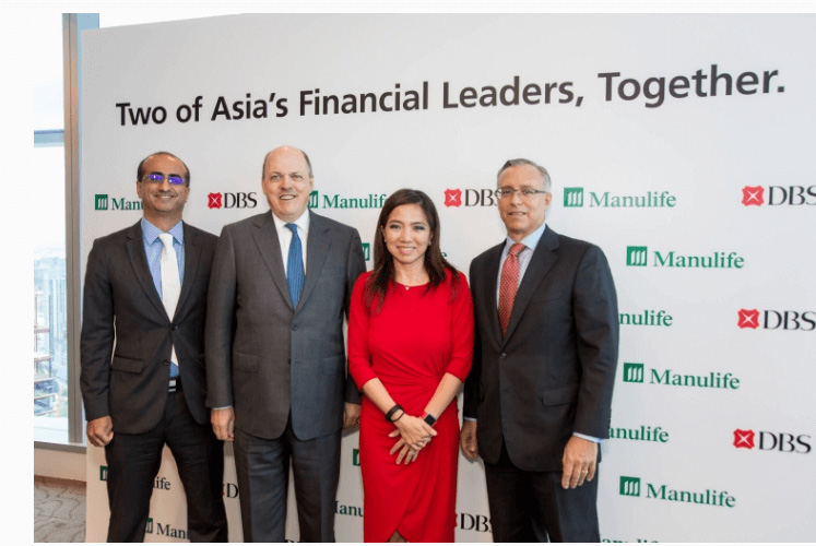 DBS and Manulife officially launch 15-year regional life bancassurance partnership