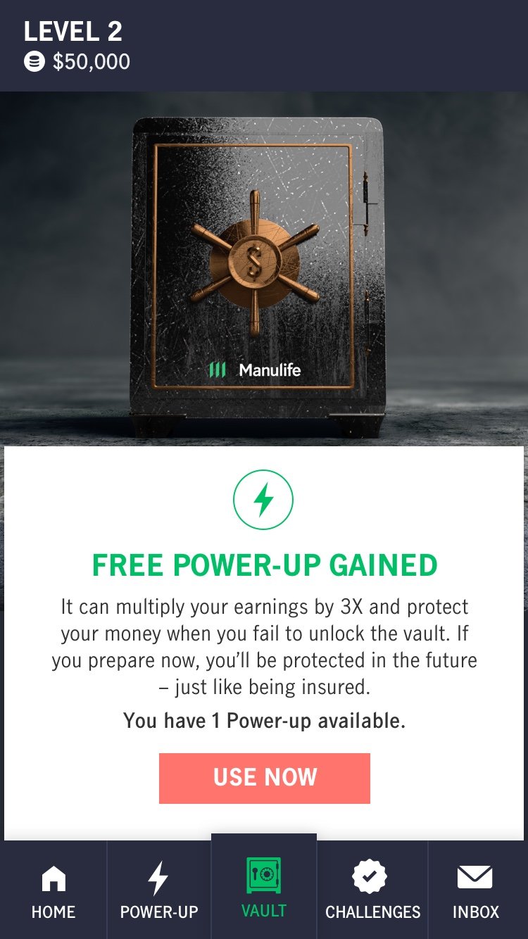 Play The Manulife Vault Game